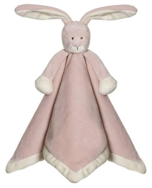 Teddykompaniet Koseklut Kanin - tåkerosa