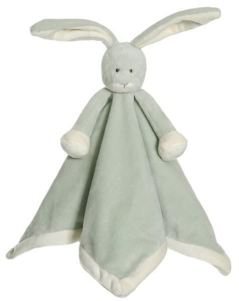 Teddykompaniet Koseklut Kanin - dus grønn